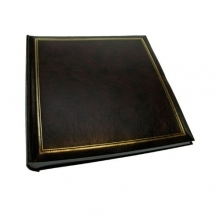 Dorr Classic Brown Traditional Photo Album - 100 Sides
