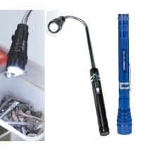Dorr TLM-556 LED Telescopic Torch - Blue