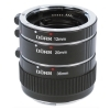 Dorr Extension Tube Set 12/20/36mm Sony Fit