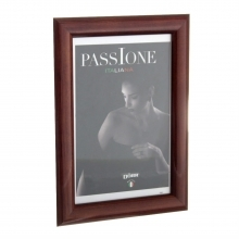 Dorr Guidi Glossy Dark Brown Wooden 12x8 Photo Frame