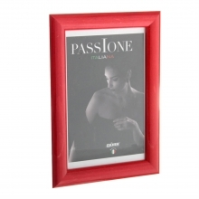 Dorr Guidi Glossy Red Wooden 12x8 Photo Frame