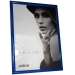 Dorr Guidi Glossy Blue Wooden 16x12 Photo Frame