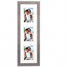 Dorr Indiana Vertical Beige Gallery Frame for 3 6x4 Photos