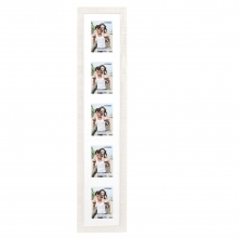 Dorr Indiana Vertical White Gallery Frame for 5 6x4 Photos