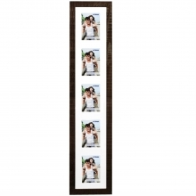 Dorr Indiana Vertical Brown Gallery Frame for 5 6x4 Photos
