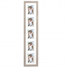 Dorr Indiana Vertical Beige Gallery Frame for 5 6x4 Photos