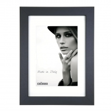 Dorr Bloc Black 8x6 inches Wood Photo Frame with 6x4 inch insert