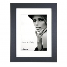 Dorr Bloc Black 12x8 inch Wood Photo Frame with an 8x6 inch insert