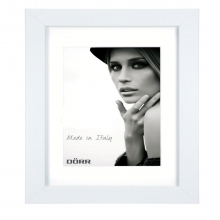 Dorr Bloc White 20x28 inch Wood Photo Frame with 16x24 inch insert