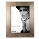 Dorr Milo Brass Effect Wooden 8x6 Photo Frame
