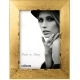 Dorr Milo Gold Effect Wooden 12x8 Photo Frame