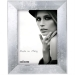 Dorr Milo Silver Effect Wooden 16x12 Photo Frame