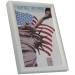 Dorr New York White 5x3.5 Photo Frame