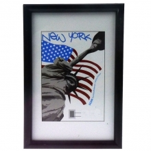 Dorr New York Black 12x8 Photo Frame