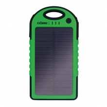 Dorr SC-5000 Solar Powerbank - Green