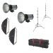 Dorr DE 500 Studio Flash Kit