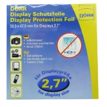 Dorr Universal Clear Screen Protection Foil 2.7-Inch