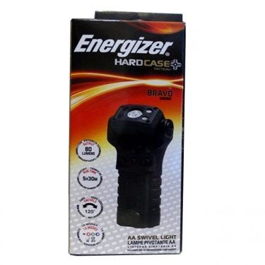 Energizer Bravo Tactical 2nd Generation Swivel Head Light - Black