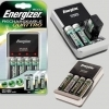 Energizer Quattro 1300 Charger with 4 AA Energizer Batteries