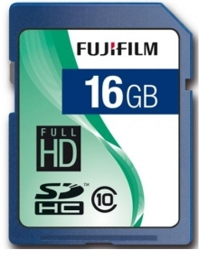 Fujifilm 16GB Class 10  Full HD Secure Digital SDHC Memory Card