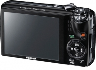 Fujifilm FinePix F660EXR Digital Camera Black