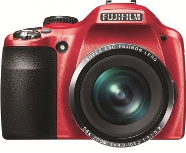 Fujifilm FinePix SL240 Digital Camera Red