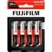 Fuji Xtra Power Alkaline AA Pack (4 Batteries Per Pack)