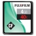 Fujifilm 4GB CF memory card 40x Speed
