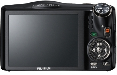 Fujifilm FinePix F770 EXR 16MP Digital Camera Black