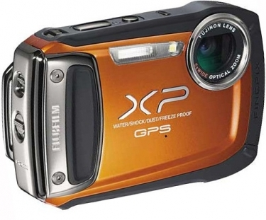 FujiFilm FinePix XP150 GPS Digital Camera Orange