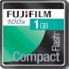 Fujifilm 1GB Compact Flash (CF) 100x Memory Card