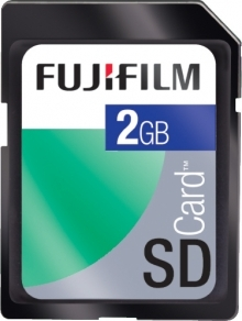 Fujifilm 2GB Secure Digital (SD) Memory Card