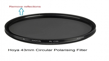 Hoya 43mm Circular Polarising Filter