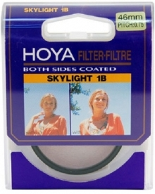 Hoya 46mm Skylight 1B Multi-Coated Glass Filter