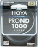 Hoya 52mm Pro ND1000 Neutral Density Filter