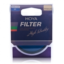 Hoya 55mm Gradual Color Blue Filter