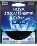 Hoya 58mm Pro-1 Digital ND16 Filters