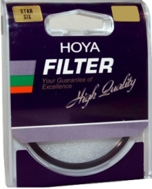 Hoya 62mm Star Six Point Cross Screen Glass Filter