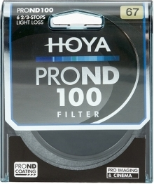 Hoya 67mm Pro ND100 Neutral Density Filter