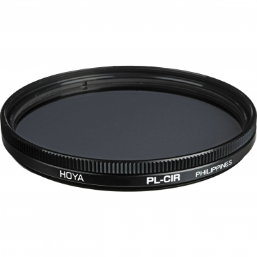 Hoya 55mm Circular Polarizer Glass Filter