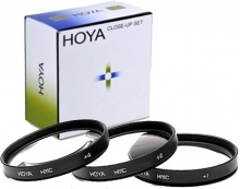 Hoya 58mm Close-Up Kit (+1,+2,+4) HMC (Multi-Coated)
