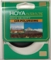 Hoya 62mm G series circular polarizing filter