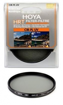 Hoya HRT 62mm Circular Polarizing + UV Filter