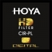 67mm Hoya (HD) High Definition Digital Circular Polariser filter