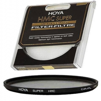 Hoya 82mm Extra_Thin Circular Polarizer Super Multi Coated Glass Filter