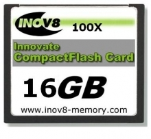 Innovate INOV8 16GB Platinum Xtreme Compact Flash Card 100X