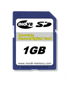 Inovate 1GB Secure Digital (SD) Memory Card