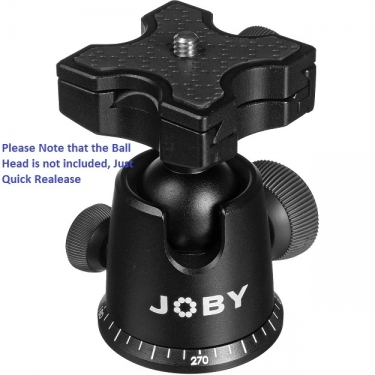Joby BH2 Quick Release for Ballhead X