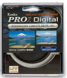 Kenko 62mm Pro Digital LPF Circular Polarizer Filter
