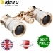Kenro 3x25 Opera Glasses - White